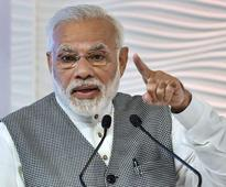 Country suffering due to 'wrong' policies of Cong: PM in LS