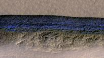 NASA scientists say steep slopes on Mars reveal structure of buried ice