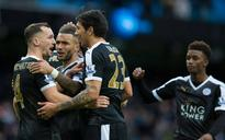 Leicester stun Man City 3-1 to go six points clear at top