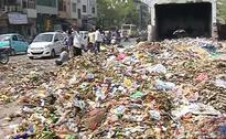 Garbage Dumped on Delhi Streets as Sanitation Workers Strike Over Non-Payment of Wages