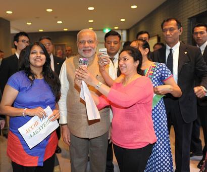'Professor' Modi engages university students in Tokyo