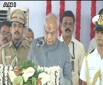 Banwarilal Purohit takes charge as new Governor of Tamil Nadu