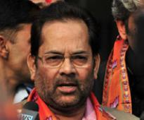 Congress politically exploited Muslims: Naqvi