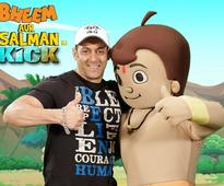 Salman Khan, Chhota Bheem's Antics Will Give You a Kick