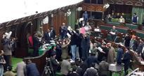 Ruckus in J&K Assembly; PDP MLA injured